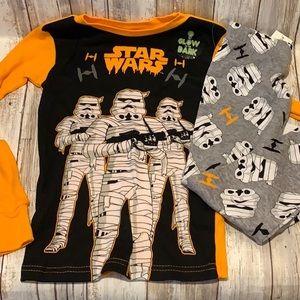 Star Wars Storm Trooper Mummies Pjs Pajamas Set